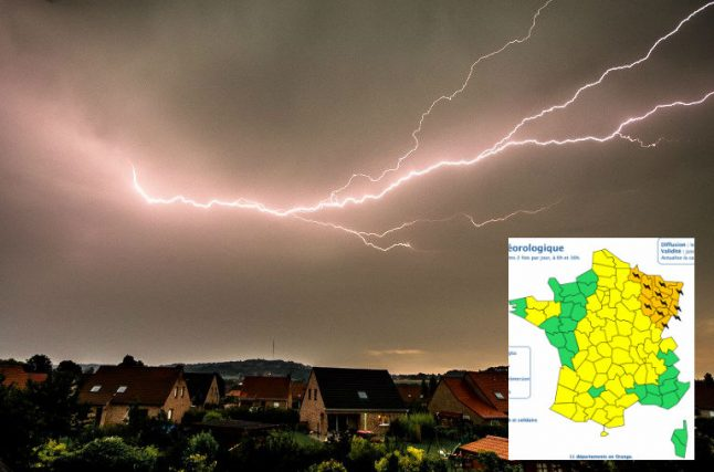 Weather warning: More violent storms to hit north-eastern France