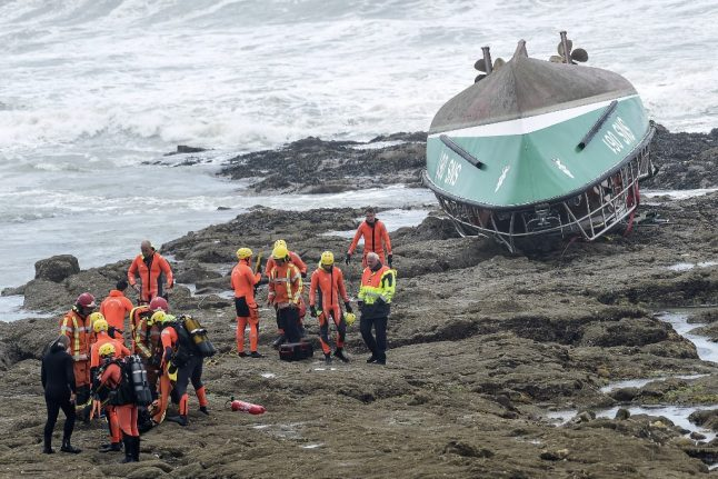 Three dead and one missing as Storm Miguel strikes western France