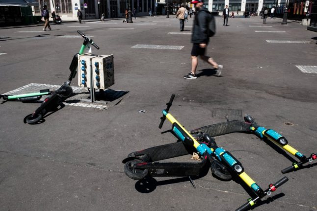 Paris: Electric scooter rider killed in traffic collision