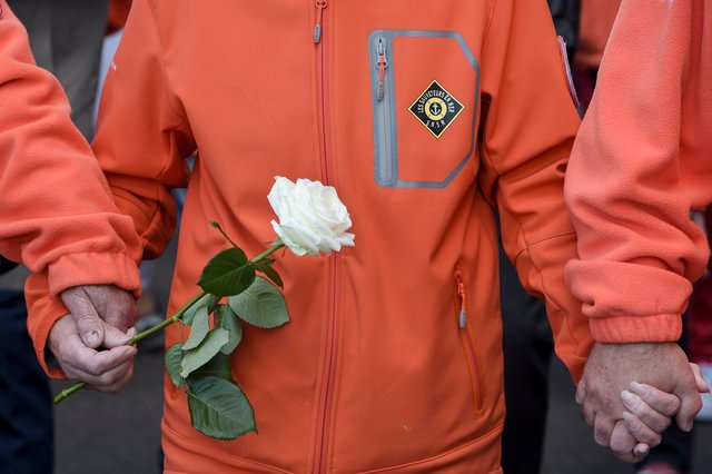 IN PICTURES: France pays tribute to ocean rescuers killed in storm