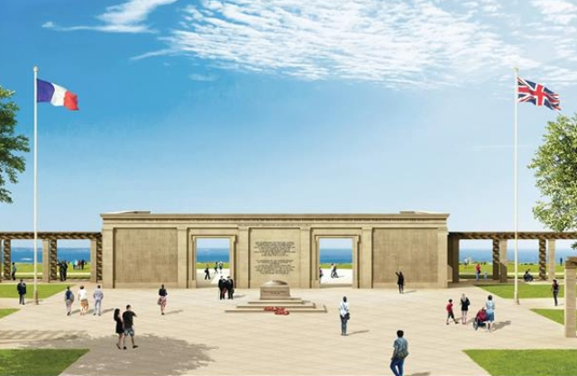 Why is a British D-Day memorial in Normandy so controversial?