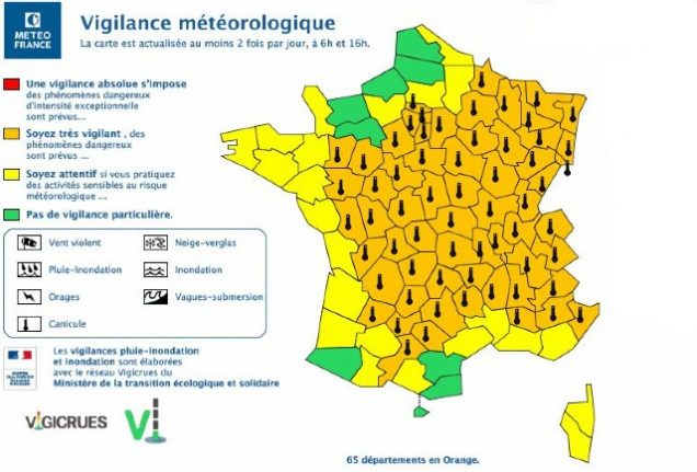Heatwave LATEST: Most of France placed on alert as temperatures spike