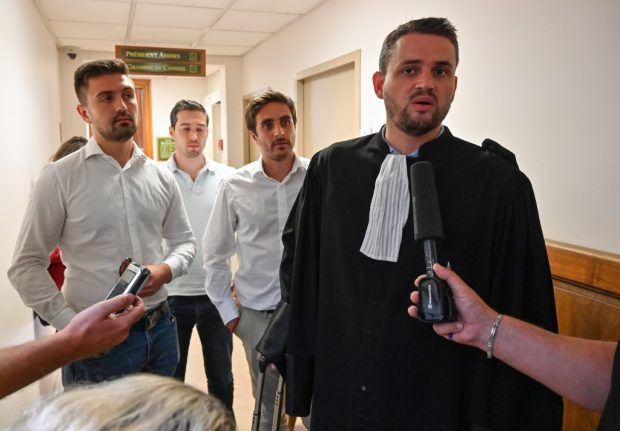French far right activists on trial for posing as members of security forces