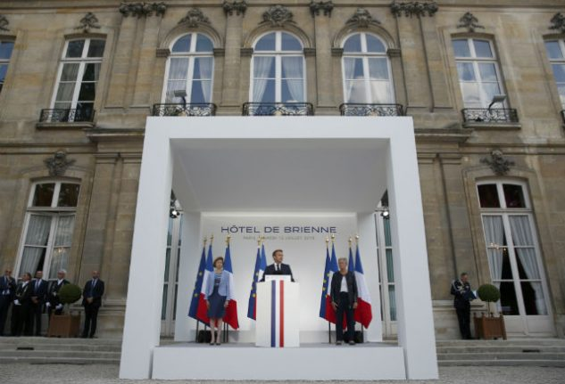 Macron to show off Euro defence cooperation at Paris parade