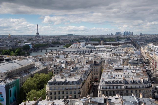 Are Paris' beautiful Haussmann buildings stopping the city cooling down?