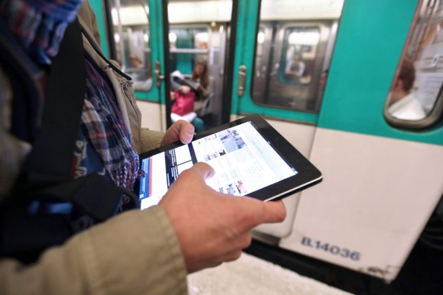Paris Metro to have 100 percent internet coverage 'by next year'