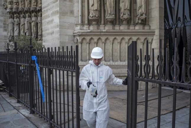 Paris summer holiday camps shut down in Notre-Dame lead pollution scare