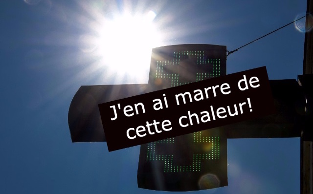 Seven French expressions to help you complain about the heat