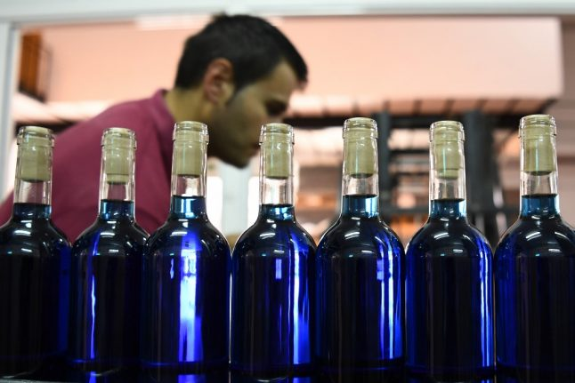 Why are French producers seeing red over blue wine experiment?