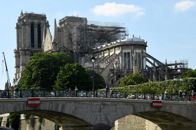 Paris schools near Notre-Dame given 'deep clean' over lead pollution fears