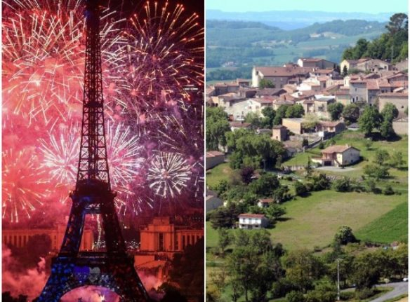 Daily dilemmas: Would you prefer life in a French ville or a French village?