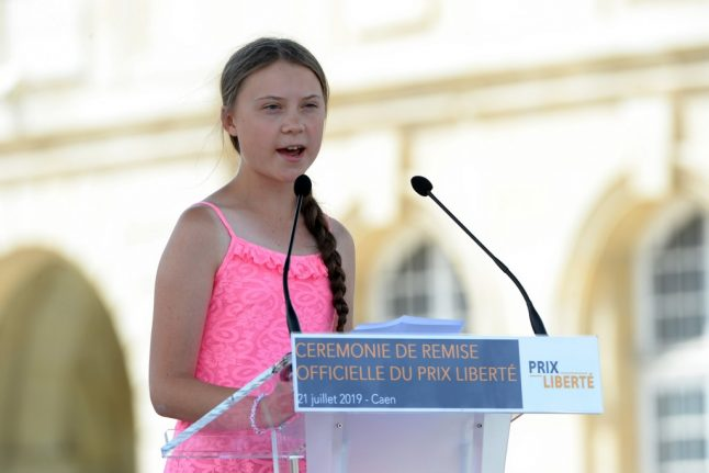 French MPs give frosty reception to Swedish climate change activist Greta Thunberg