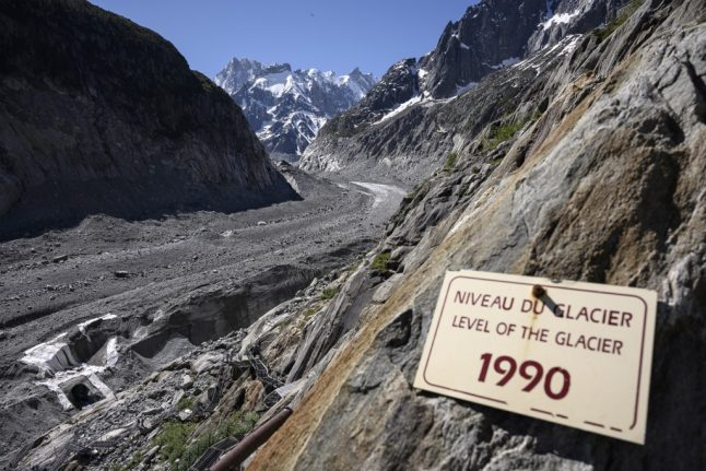 This is how climate change is affecting France's Mont Blanc mountain