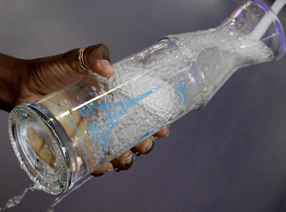 Paris authorities insist that it is OK to drink the city's tap water