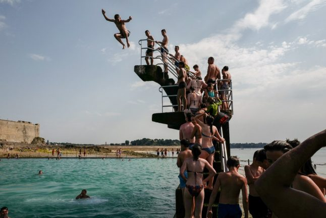 IN PICTURES: How France is coping with the record-breaking heatwave