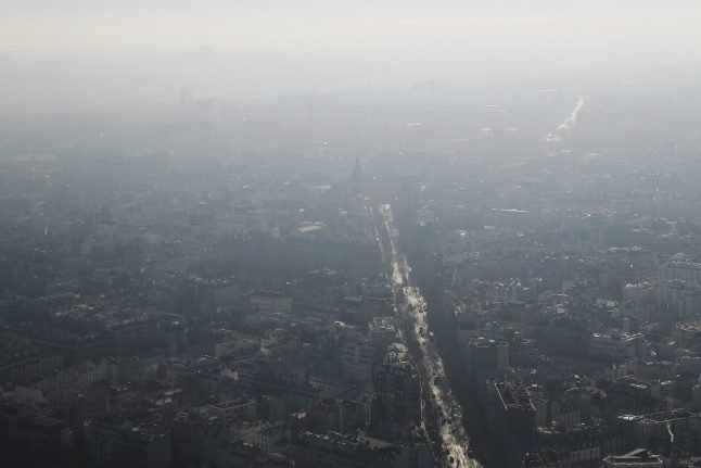 MAP: How to check the air pollution levels near you in France