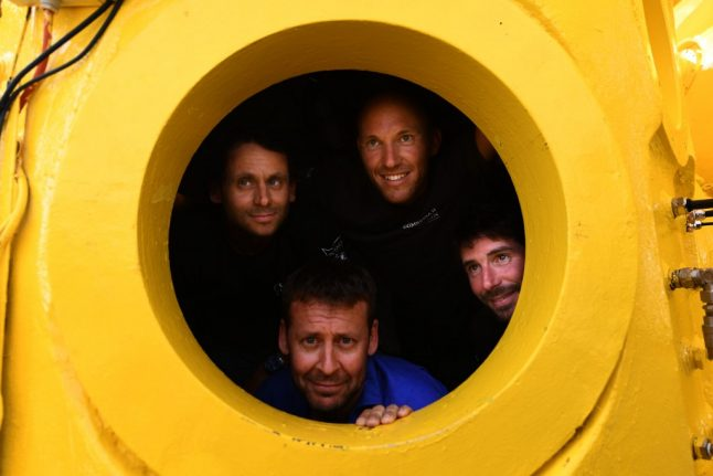 French divers launch daring deep-sea expedition to uncover 'lost paradises' of Mediterranean