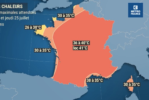 What you need to know about the new heatwave hitting France this week