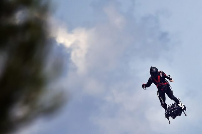 Will France's 'flying soldier' make it across the Channel to England?