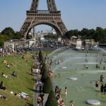 Paris and northern France put on RED alert as temperatures soar towards 40C