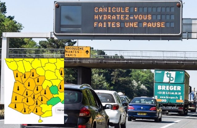 HEATWAVE LATEST: Alerts extended across France with Paris set for record high temperature
