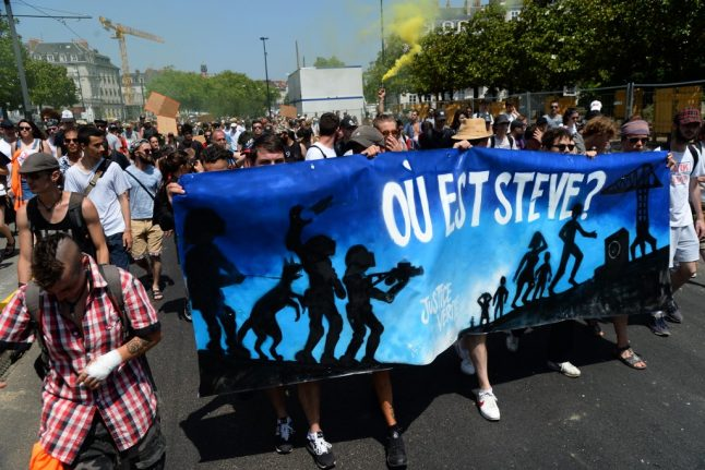 Why are people across France demanding to know 'Where's Steve'?