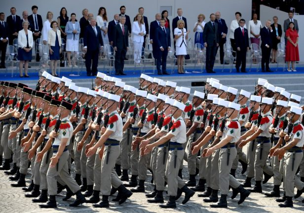 Why the French Foreign Legion might approach you on a beach this summer