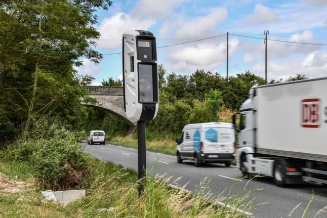 Dozens of France's new 'invincible' speed cameras have already been vandalised