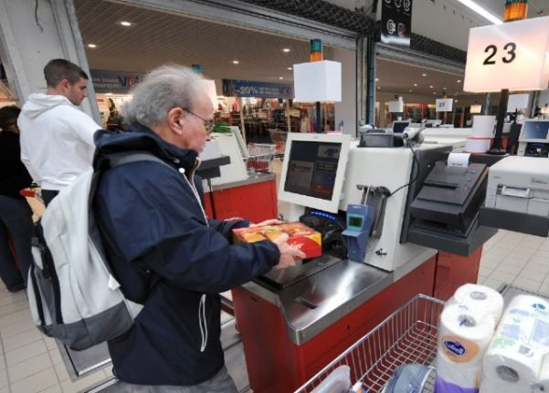 France's first Sunday opening of a hypermarket leads to protests