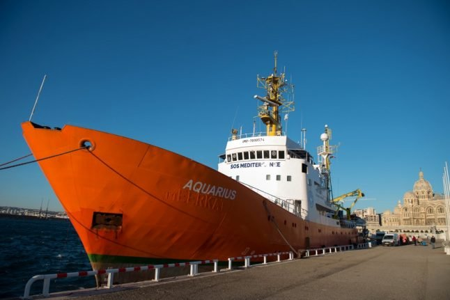 New migrant rescue ship launches from Marseille