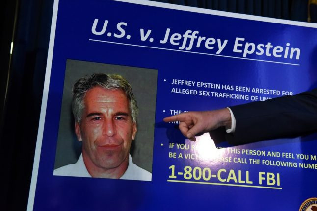 Ministers call for investigation into disgraced US financier Epstein's links to France