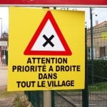 How does 'priorité à droite' really work when you're driving in France?