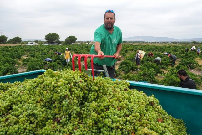 French winemakers face anxious wait over US tariffs threat