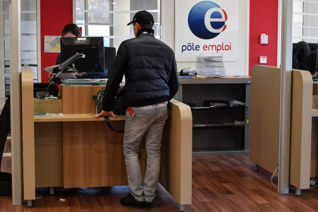 France's unemployment rate falls again to new 10-year low