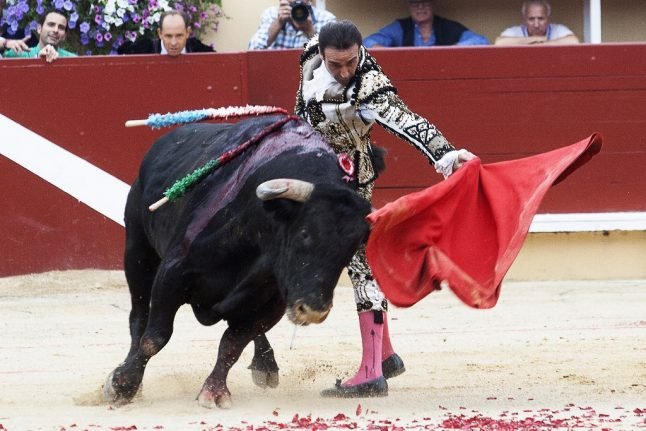 French ministers provoke storm after being pictured at bullfight