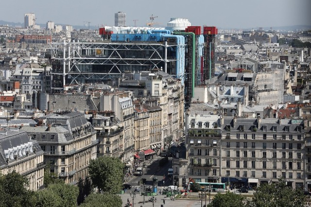 Parts of Paris' Pompidou Centre closed for year-long restoration works