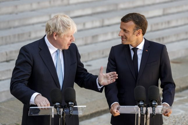 Johnson: British people in France should be 'treasured and supported' after Brexit