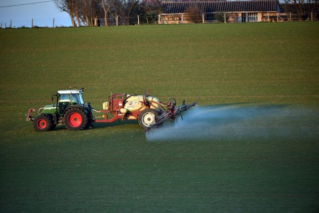 French mayor in court after banning pesticides near homes in his village
