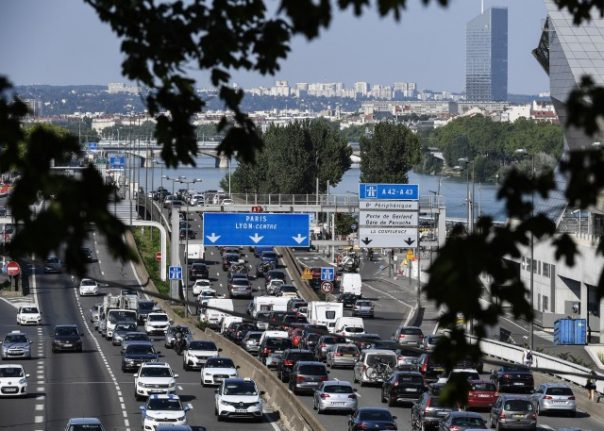 Traffic warnings issued across France as summer holidays come to an end