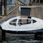 IN PICTURES: Paris tests out new 'flying' water taxi as way to beat the traffic