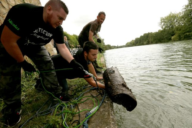 French government cracks down on magnet fishing over fears of WWII bombs