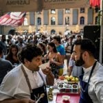 In Pictures: Lyon street food festival pulls in crowds and a star chef