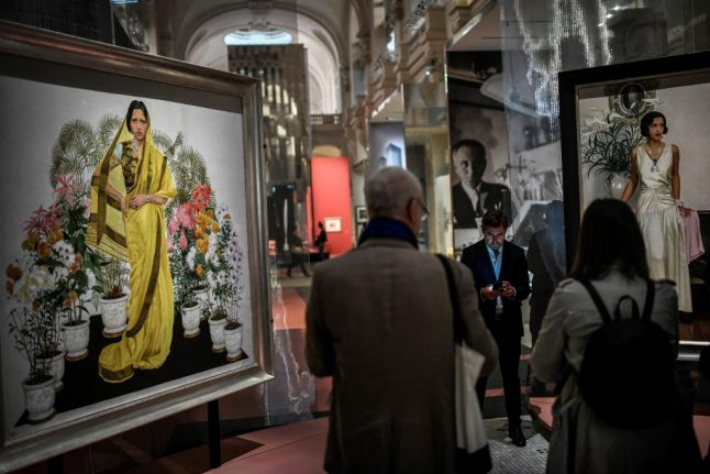Paris pays homage to India's glamorous 'golden couple' of the 1920s and 30s