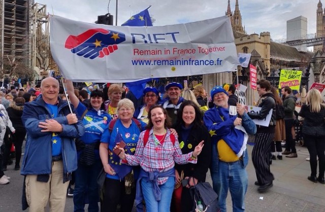 Brits in France prepare to march on London over Brexit
