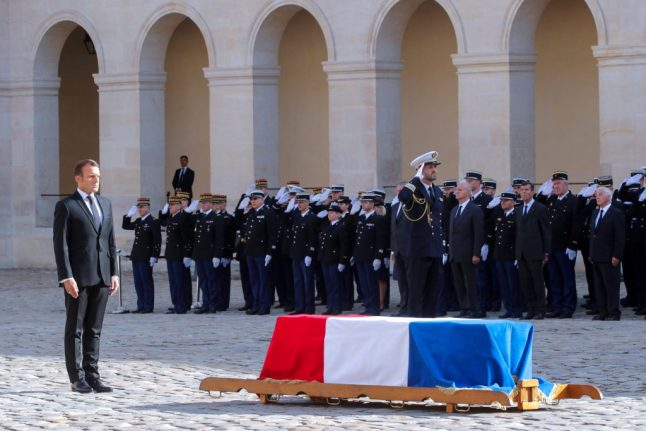 IN PICTURES: France bids adieu to Jacques Chirac at funeral service in Paris