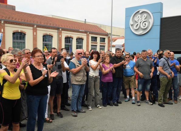 Boss of GE in France being investigated over Macron links