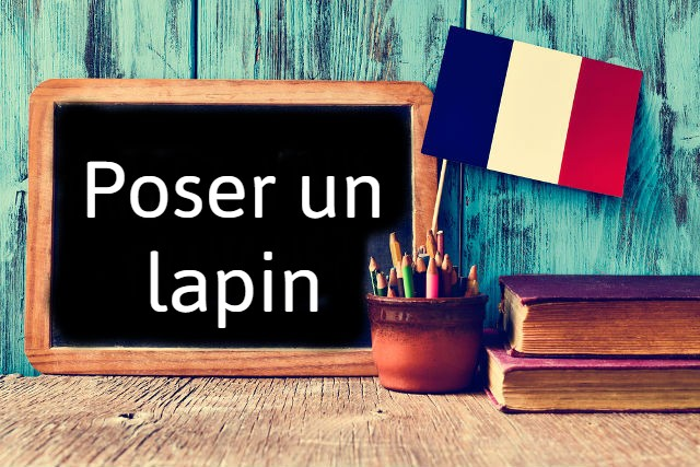 French Expression of the Day: Poser un lapin