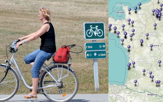 MAP: France to splash out €43 million to build new cycle lanes around the country