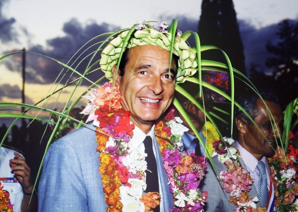 IN PICTURES: The story of Jaques Chirac through the years