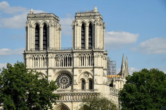 Five women 'plotted to blow up Paris' Notre-Dame cathedral'